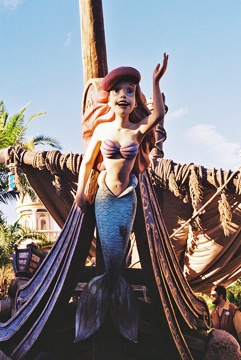 The Little Mermaid, Fantasyland, Magic Kingdom