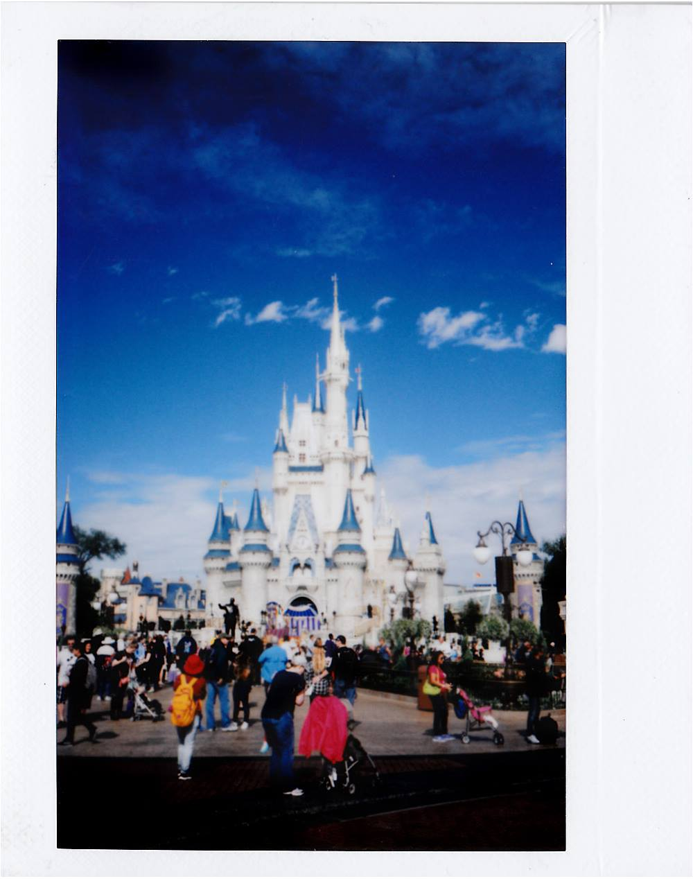 Polaroid of Cinderella's Castle, Magic Kingdom