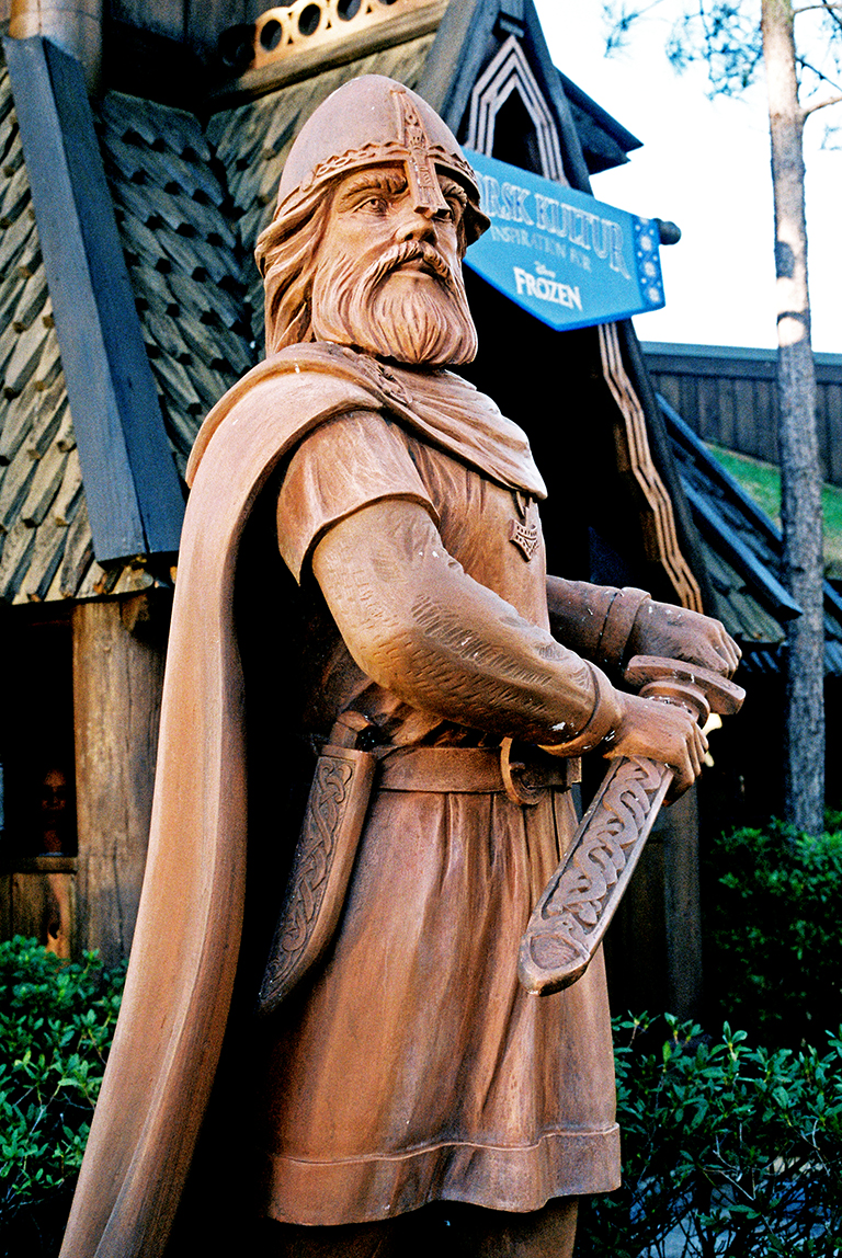 Statue in Norway