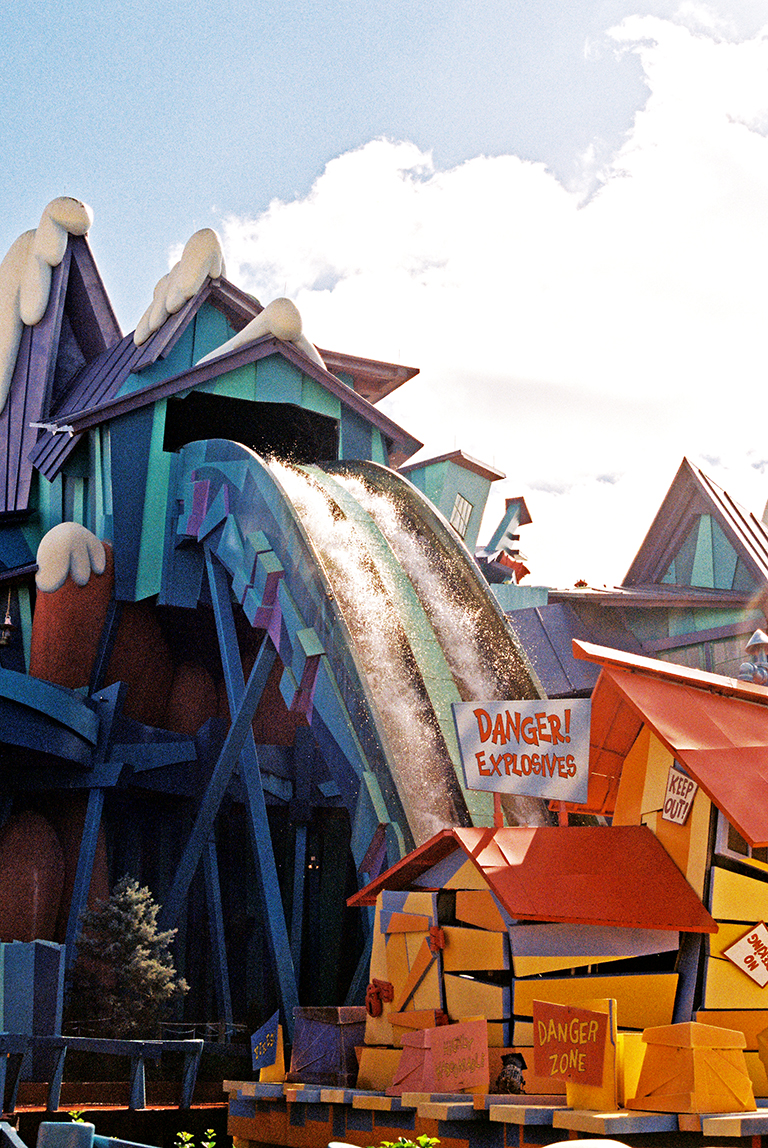 Ripsaw Falls, Islands of Adventures