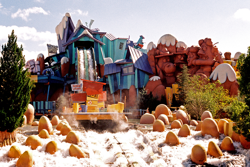 Ripsaw Falls, Islands of Adventure