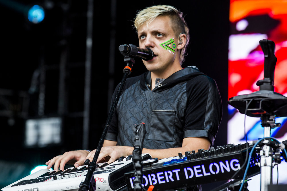 Robert Delong at the Queens Boulevard Stage - Day 2