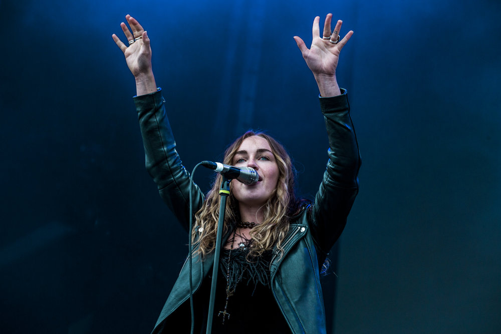 Zella Day at The Meadows Stage - Day 2