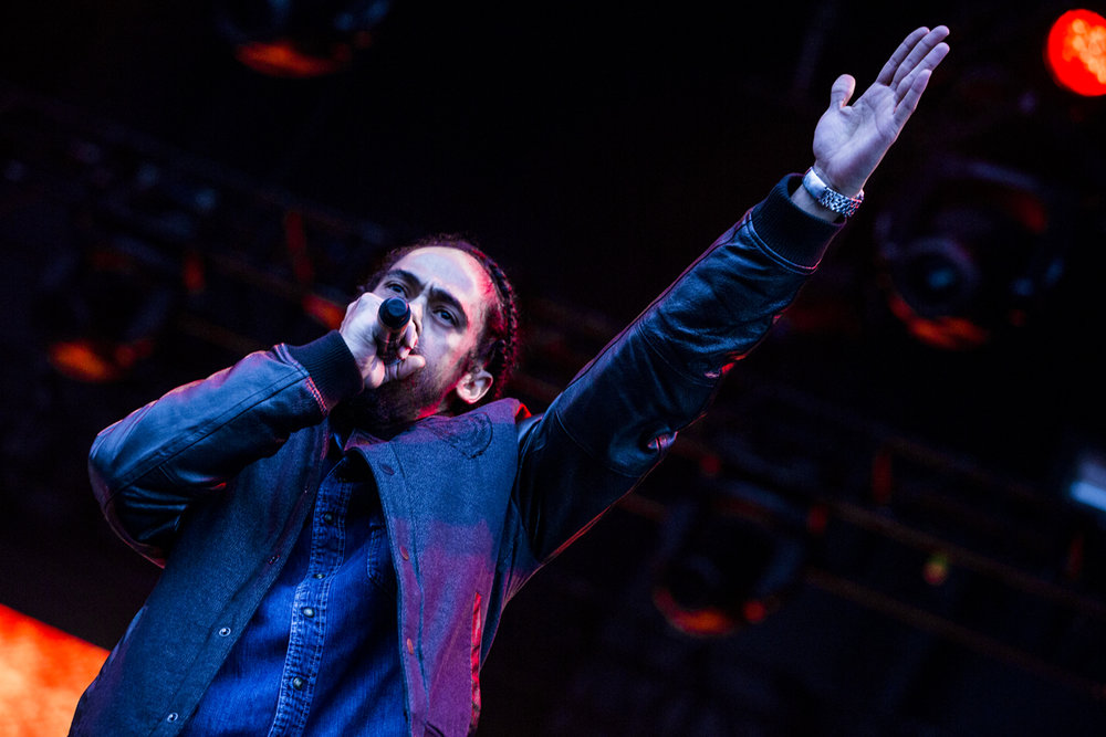 Damian Marley at the Shea Stage - Day 1
