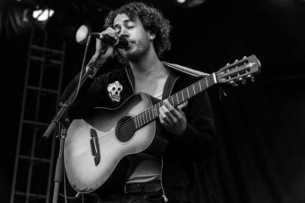 Lewis Del Mar at the Linden Boulevard Stage - Day 2