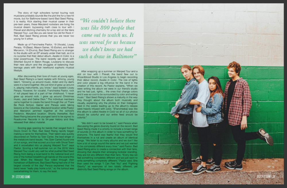 - Stitched Sound Magazine,