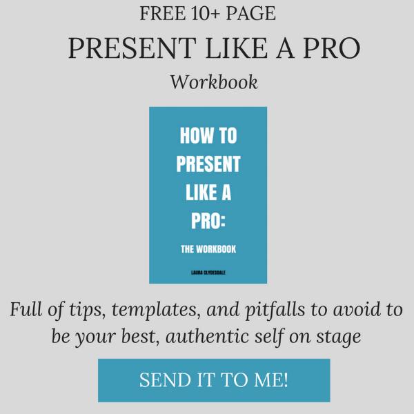 Free presentation skills workbook