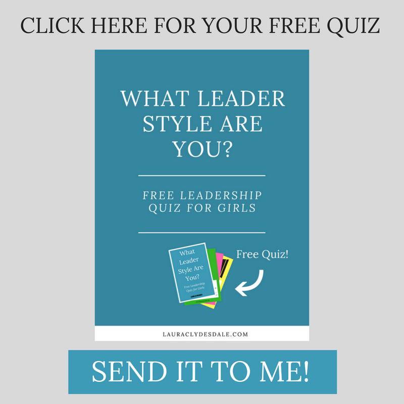 Free Girls Leadership Style Quiz