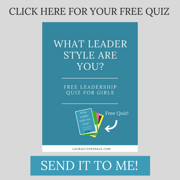 Free Leadership Style Quiz For Girls