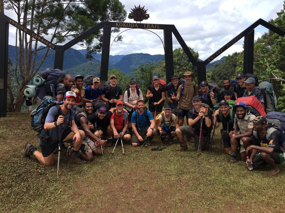 KOKODA TREK - Includes: Trekking Permits, Local and Australian Guides, Food and Accommodation, Training, Advice and Preparation, Transfers