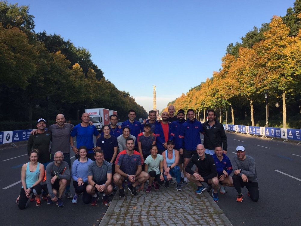 BERLIN MARATHON - Includes: Race Entry, 4 Nights Accommodation, 8 Months of Training, Recovery Facilities.