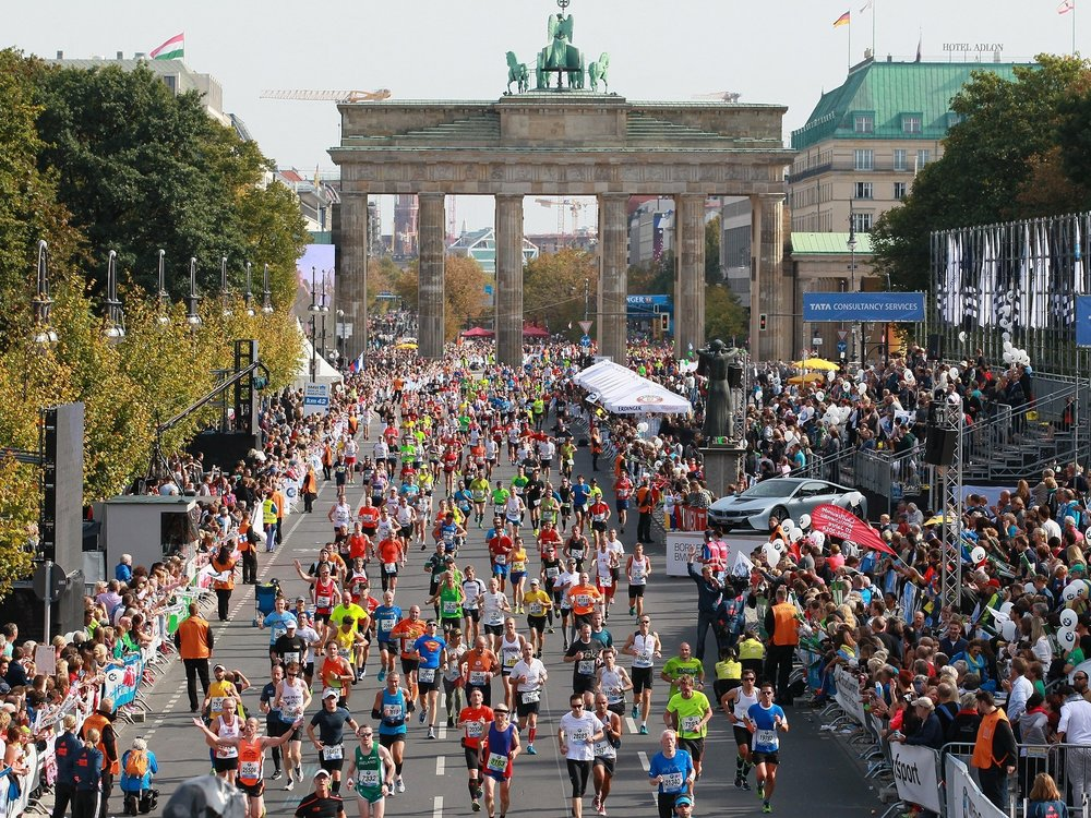 berlin marathon - Known for its perfect race temperatures, epic crowds, flat profile and event surfaces, this is the perfect race to go and chase the awaited PB. The BMW Berlin Marathon is one of the six World Marathon Majors.