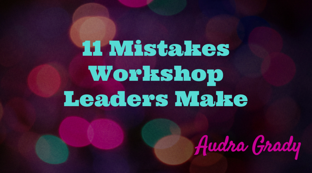 so you don't get stuck before you get started... Learn about the most common mistakes visionary leaders make that hold them back from getting their message out there - 11 MIstakes... And how to overcome them!