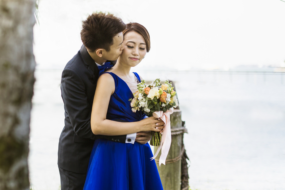 Wedding of Melvin and Lyn. Image taken at Keppel Club