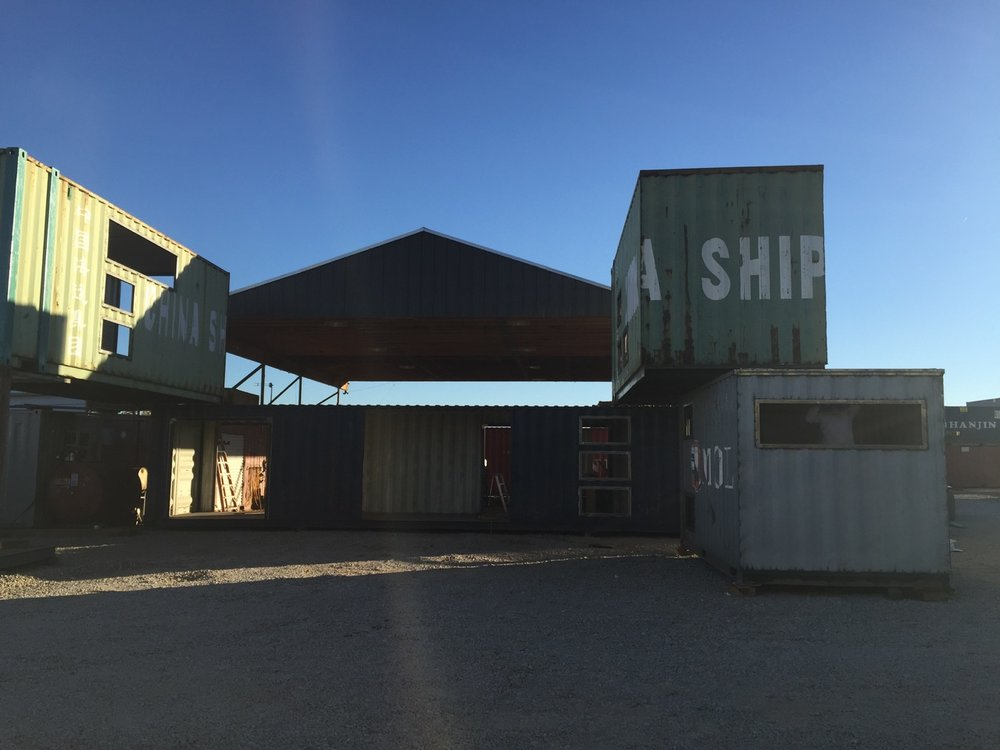Container modifications for offices