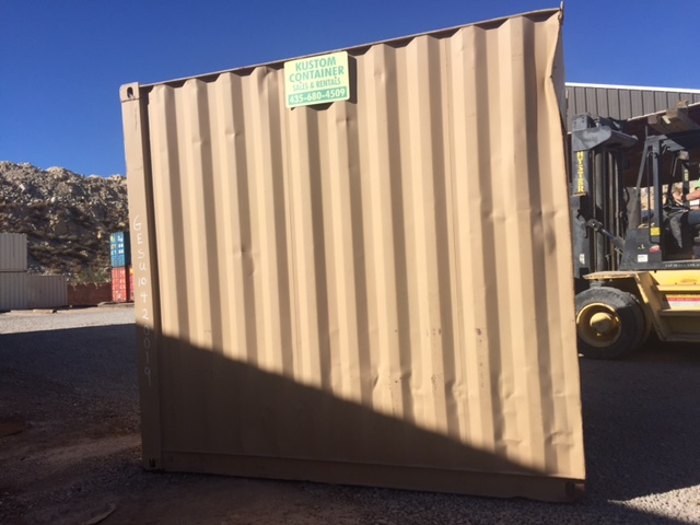 10' High Cube painted container w/roll up door $2500.00