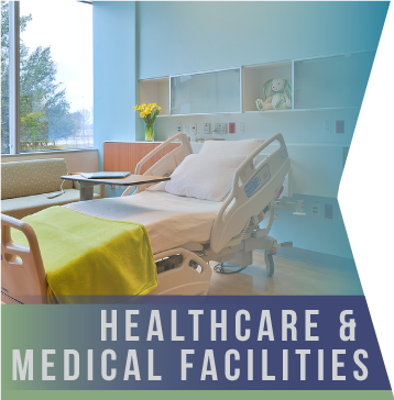 Healthcare & Medical Facilities   Forte teams are fully aware that the very nature of healthcare and medical facilities calls for the utmost attention to detail. Hospital cleaning cannot be taken lightly.