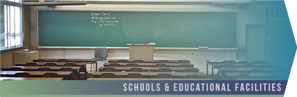 Schools & Educational Facilities   At Forte, we know the exposure students and teachers face. In order to combat       as many of the germs and viruses as possible, we provide our  green cleaning service , utilizing the best certified technology and chemicals.
