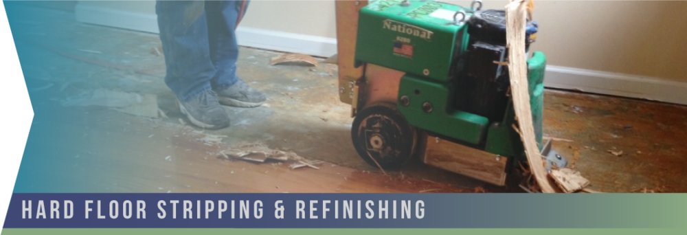 Hard Floor Stripping & Refinishing   At Forte, we know that proper maintenance of hard floors is essential to protect your investment; it not only makes daily cleaning easier, but also beautifies and prolongs the life of any type of hard flooring.