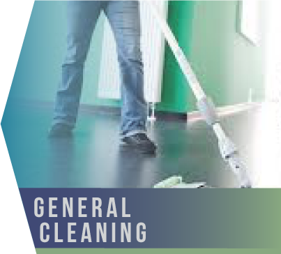 General Cleaning   First impressions count. In any business, what your guests and employees see when they first walk in the door leaves a lasting imprint. This is why we provide a general janitor service tailored to suit the needs of your business.