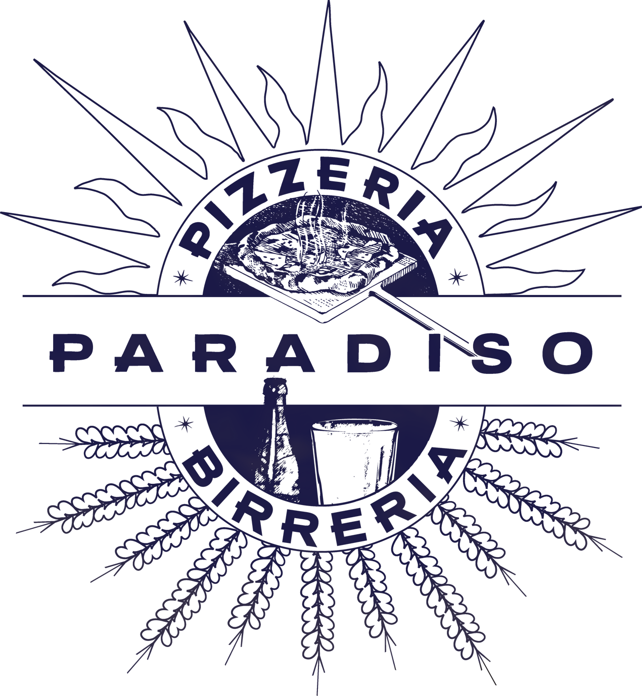 Image result for pizzeria paradiso logo