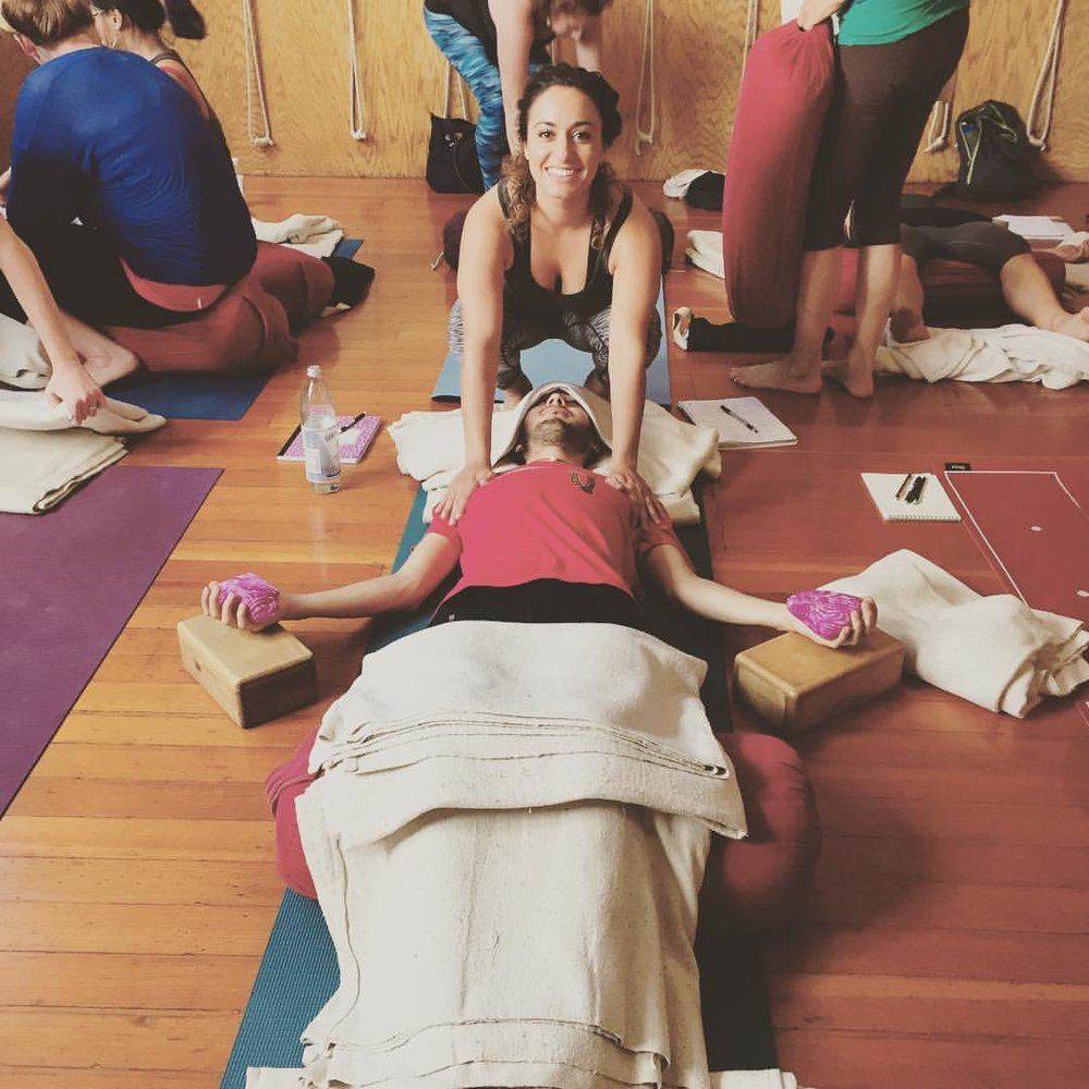 Restorative Therapeutic YTT, YogaGarden SF