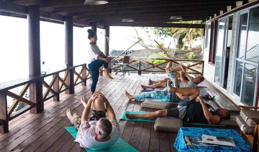 Aganoa Surf Lodge, Samoa