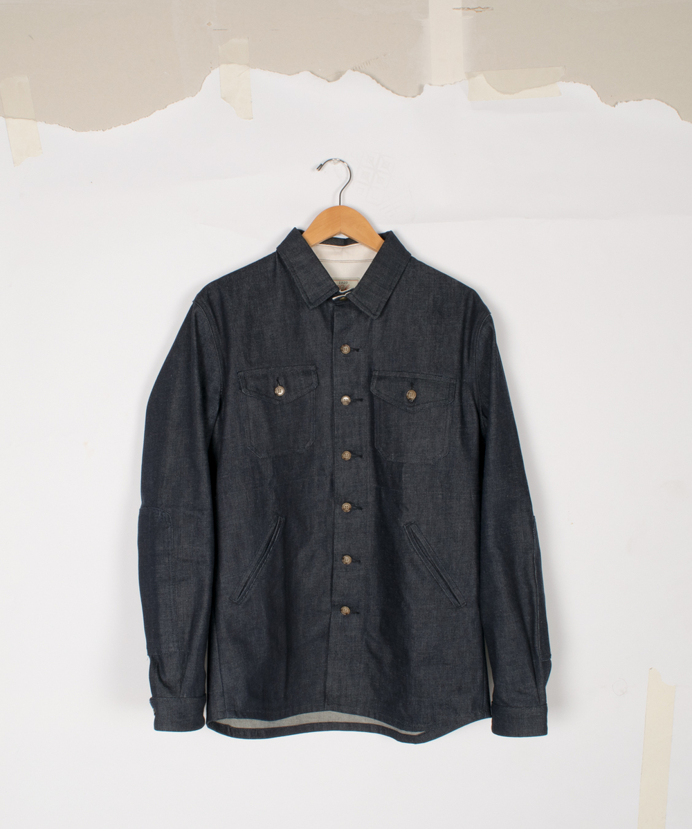 Crissman Overshirt - Selvedge Denim - $295