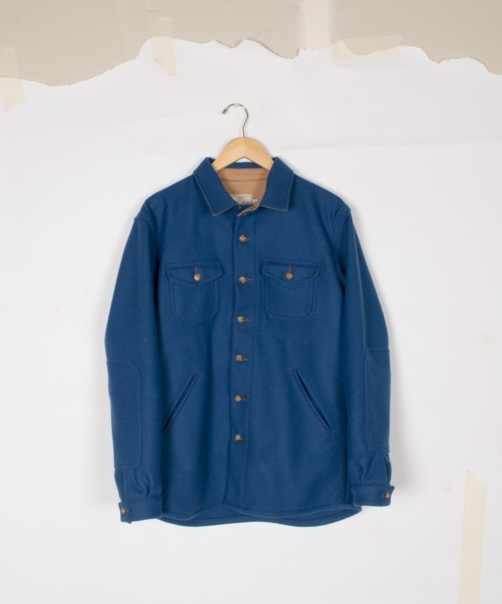 Crissman Overshirt - Cobalt - $295