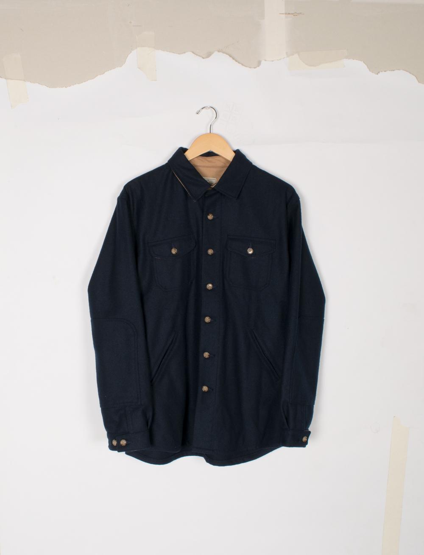 Crissman Overshirt - Navy - $295