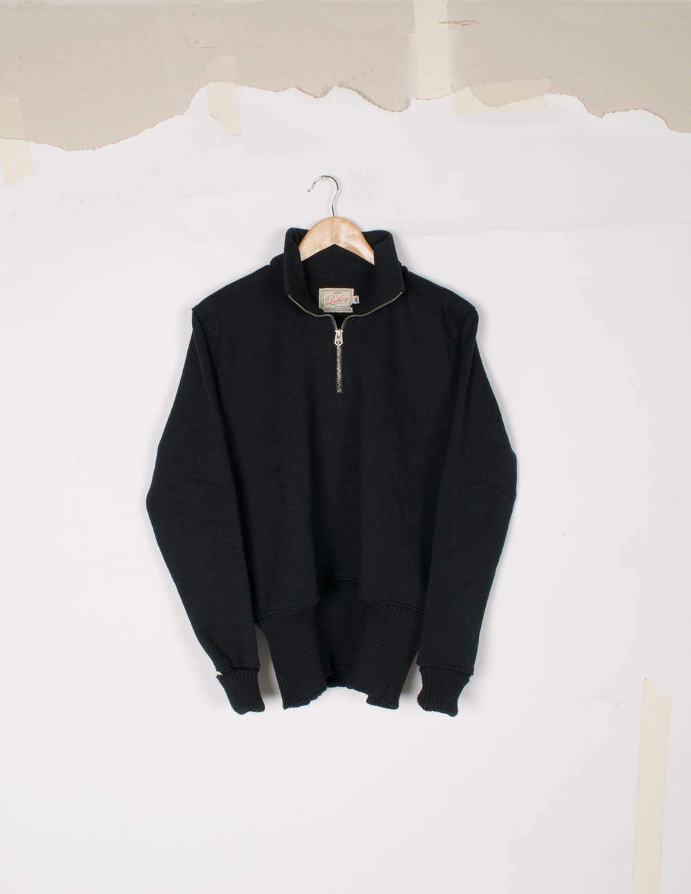 Motorcycle Sweater - Black - $145/$295