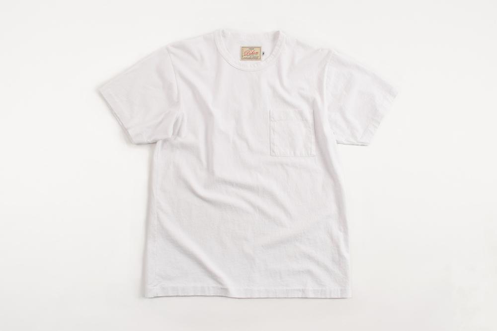 Heavy duty tee single pocket dehen 1920 for Heavy duty work t shirts