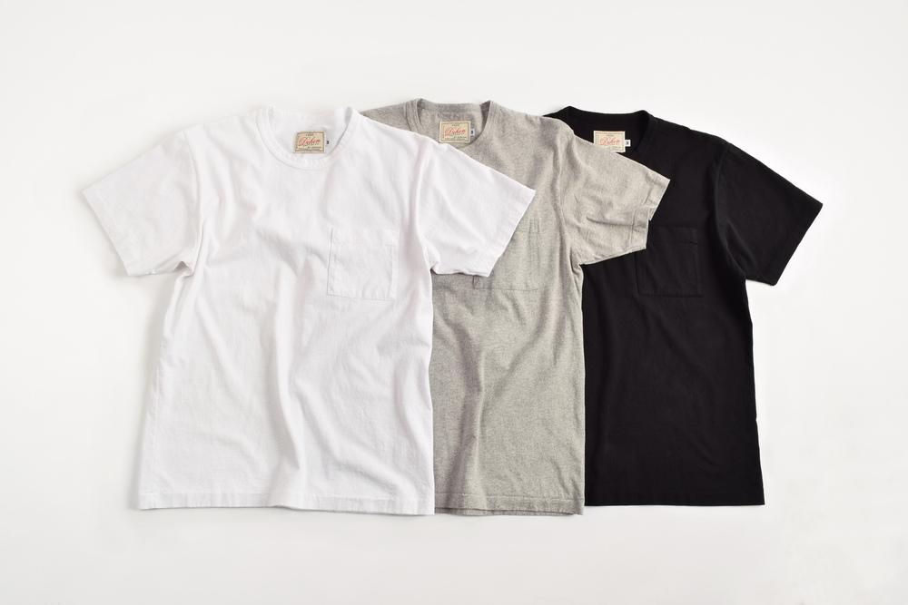 Heavy duty tee single pocket 3 pack dehen 1920 for Heavy duty work t shirts