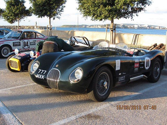 Back in the 50's the C-Type was Jaguars first purpose built race car! This being the case it's great seeing Proteus owners using their cars competitively. Pictured above is C-Type number three awaiting stages on the Oris Mallorca rally! 🇬🇧 Website link in our bio!  #ClassicMeetsClever  Hand built in Britian! #proteus #proteusjaguar #proteusctype #ctypeproteus #proteuscars #proteussportscars #ctype #ctypejag #ctypejaguar #jaguarctype #jaguarcars #l4l #likeforlike #like4like #sportscars #racecar #drivetastefully #horsepower #petrolhead #bespokebritishsportscars #historicmotoring #historicmotorsport #classicdriver #hofmanns #hofmannshenley #bespokebritishsportscars
