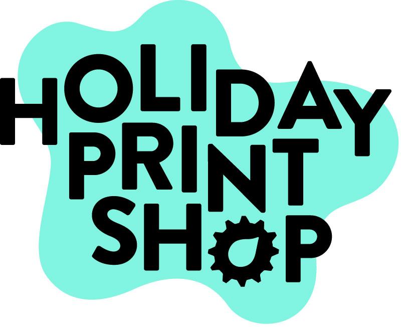 LATITUDE Staff Holiday Print Shop Logo