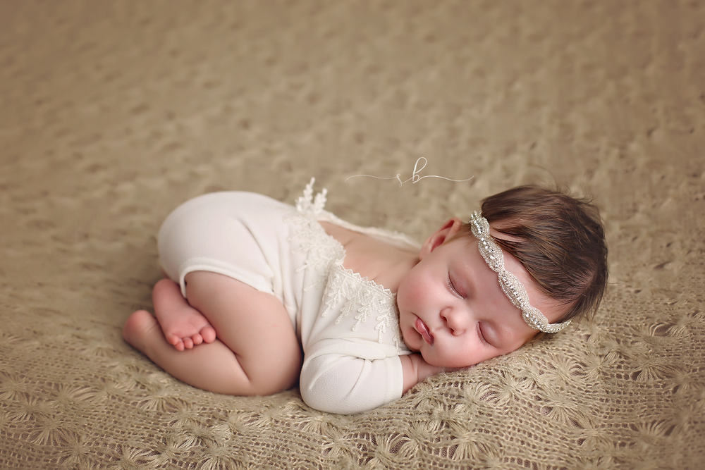 Scarlett during her  newborn photography session  <3