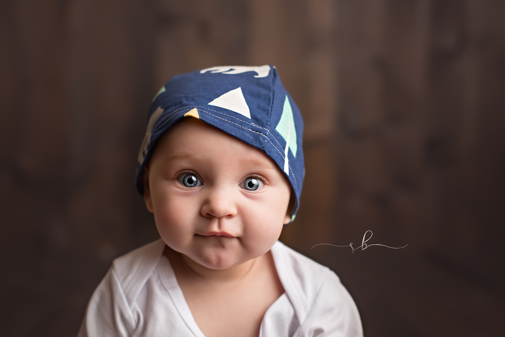 6 month portrait