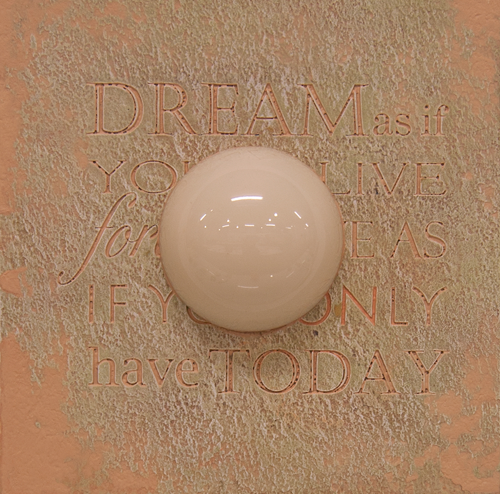 The Easy Button Dream push me as if embedded Into my flesh cyclical days centered on instantaneous squares