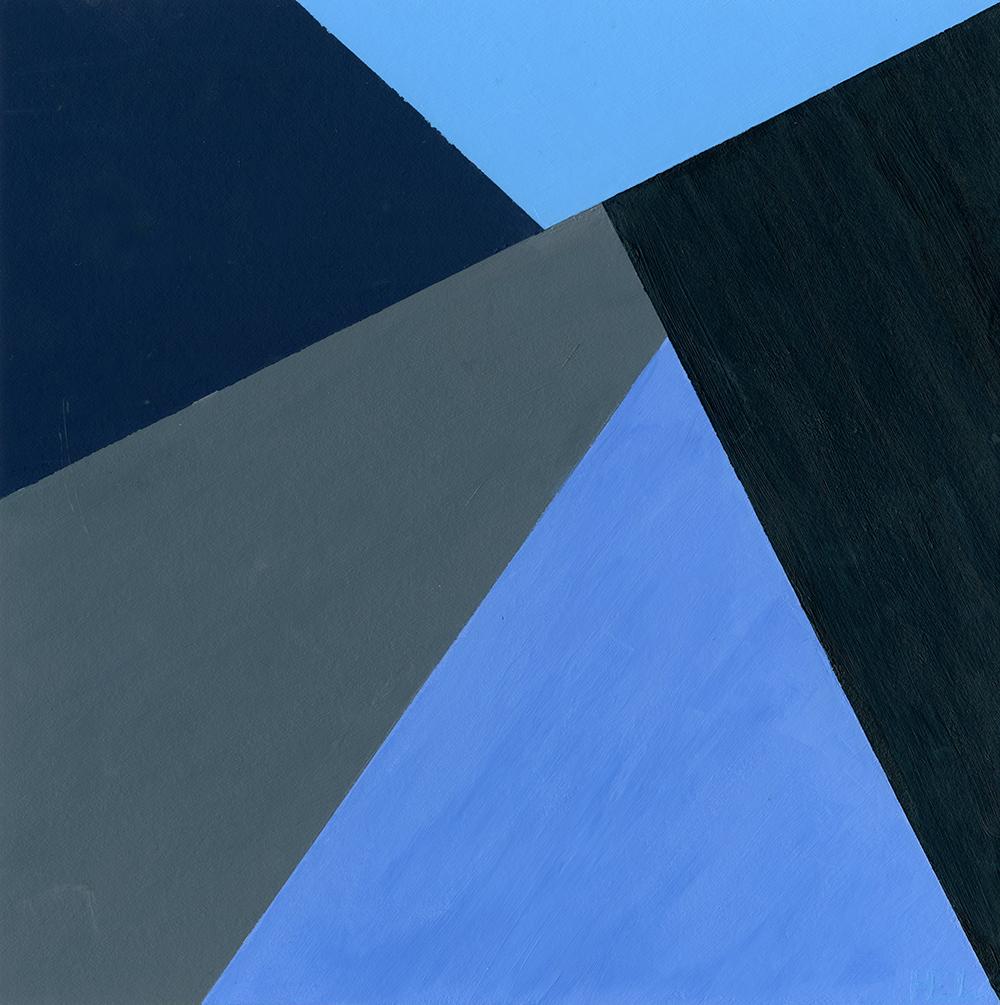 Heather Layne, geometric abstraction, acrylic