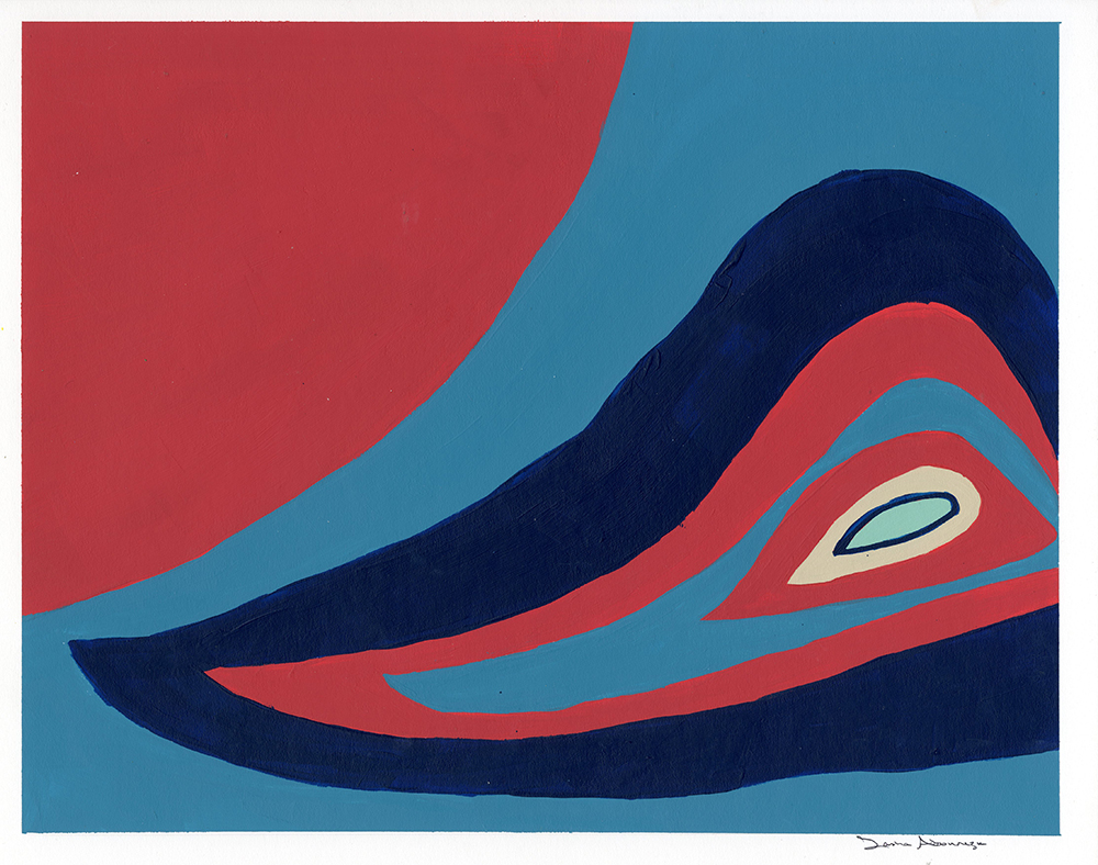 Tasha Abourezk, organic abstraction, acrylic