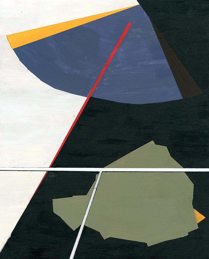 Jake Stiehl, organic abstraction, acrylic