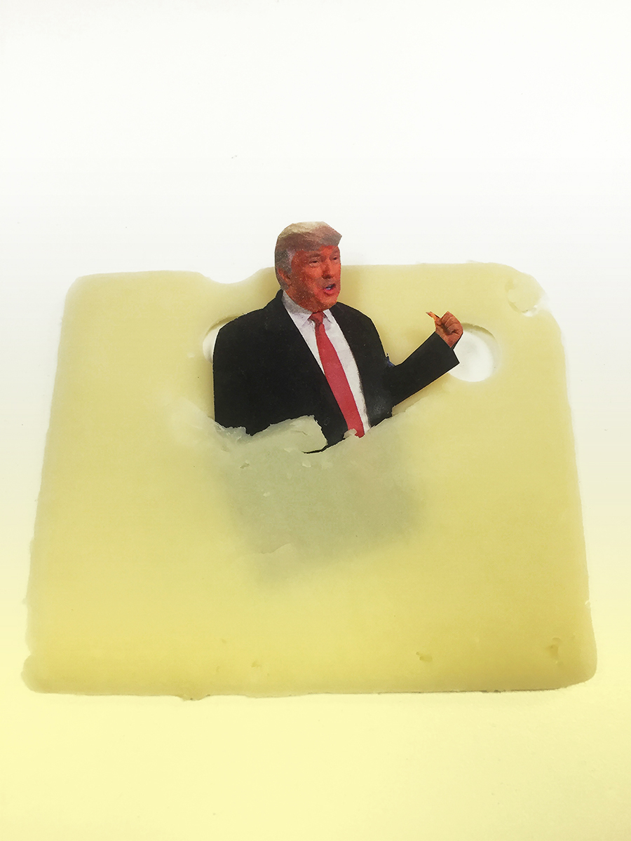 Trump and Cheese and Holes