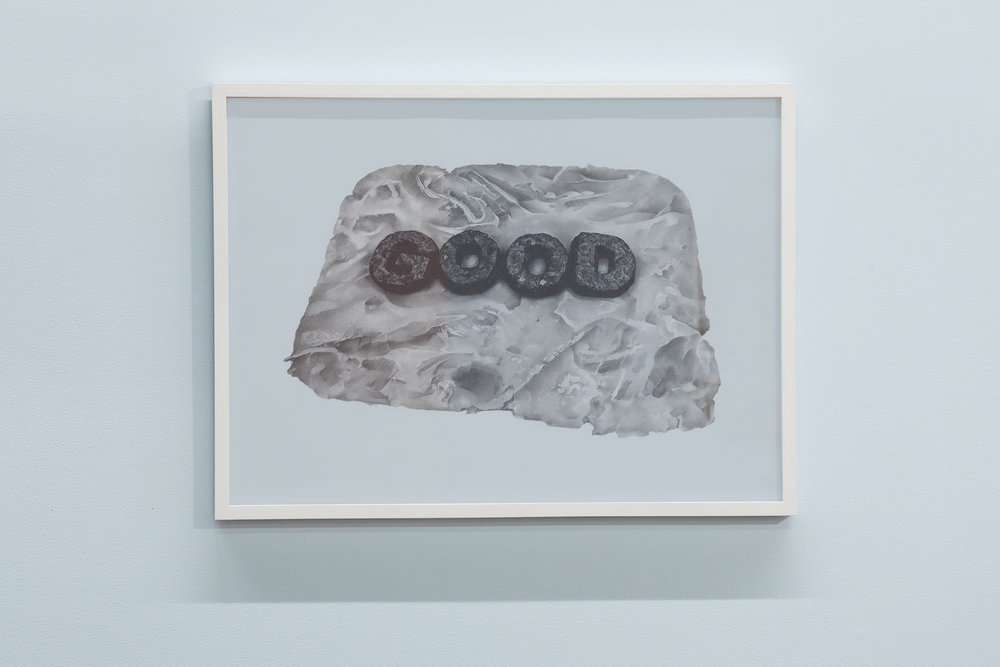 "Good On Ham, 2018, graphite, 30"" x 22"""