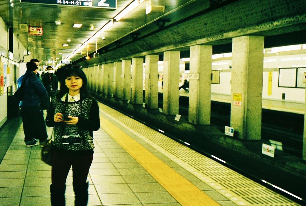 Divine Tio Tokyo Japan Subway- Atis Puampai