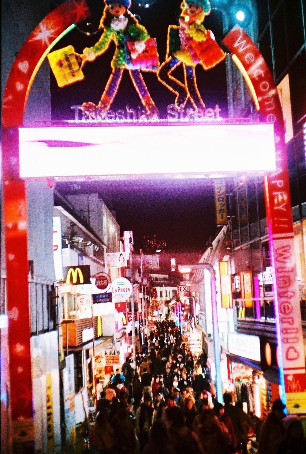 Divine Tio Takeshita Street Harajuku Tokyo Japan  - Atis Puampai