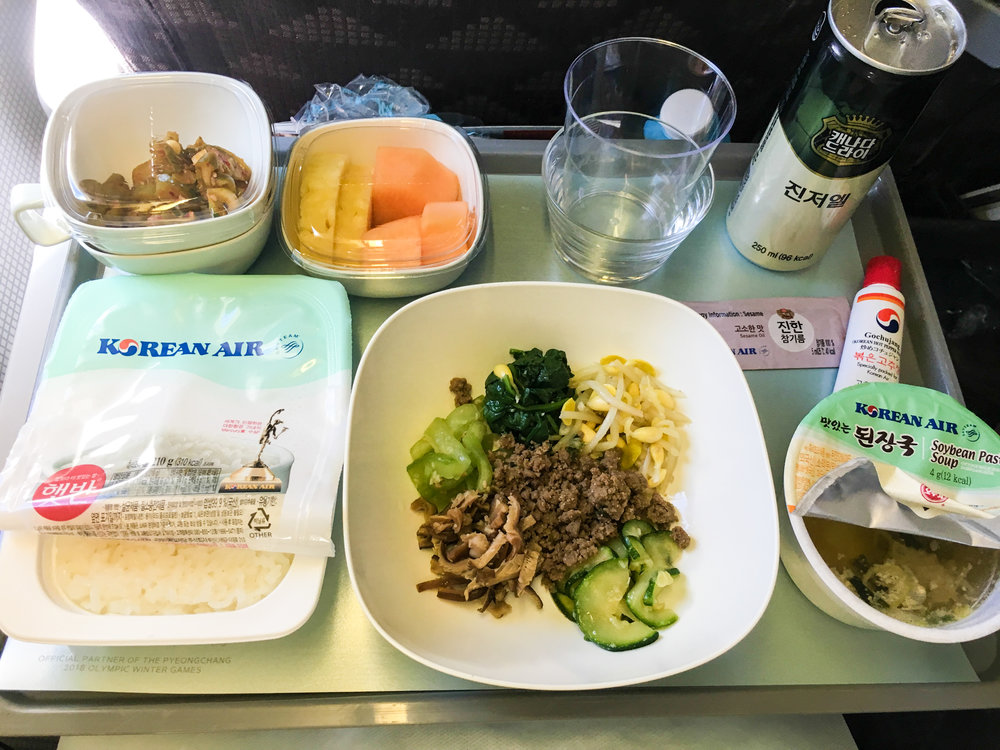 Divine Tio Korean Air Bibimbap
