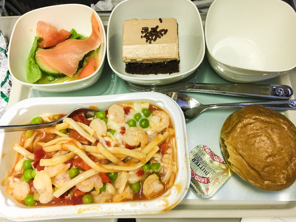 Divine Tio Korean Air Seafood Pasta