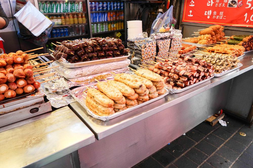 Divine Tio Myeongdong Seoul Food