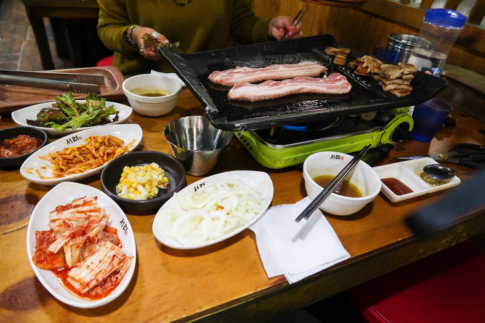 Divine Tio Pork Belly Samgyeopsal Seoul
