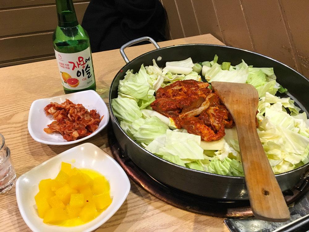 Divine Tio Dakgalbi Seoul